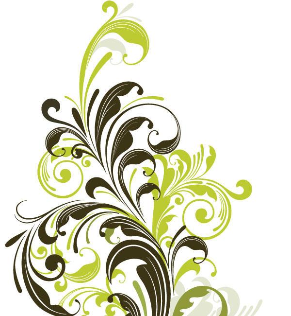 15 Floral Sticker Vector Designs Images