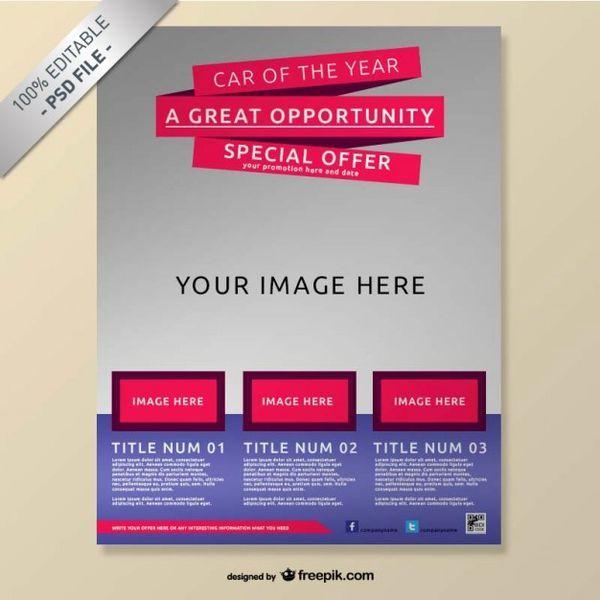 Free Brochure Mock Up Photoshop