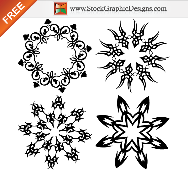 7 Graphic Design Elements Vector Images