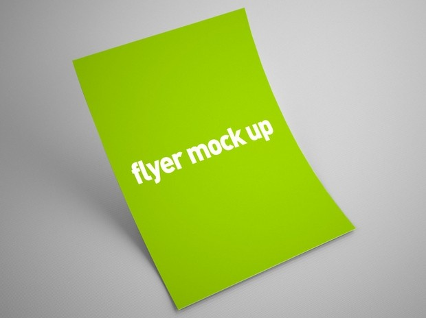 Free Flyer Mock Up Psd