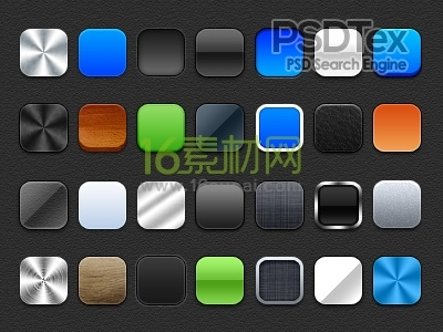 Iphone Icon Template Via Free Photo Layer Styles