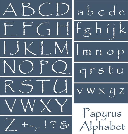8 Primitive Country Style Fonts Images Primitive Font