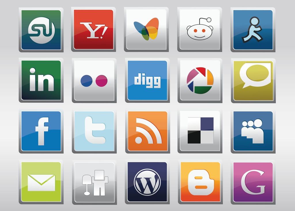 Free Social Media Logos