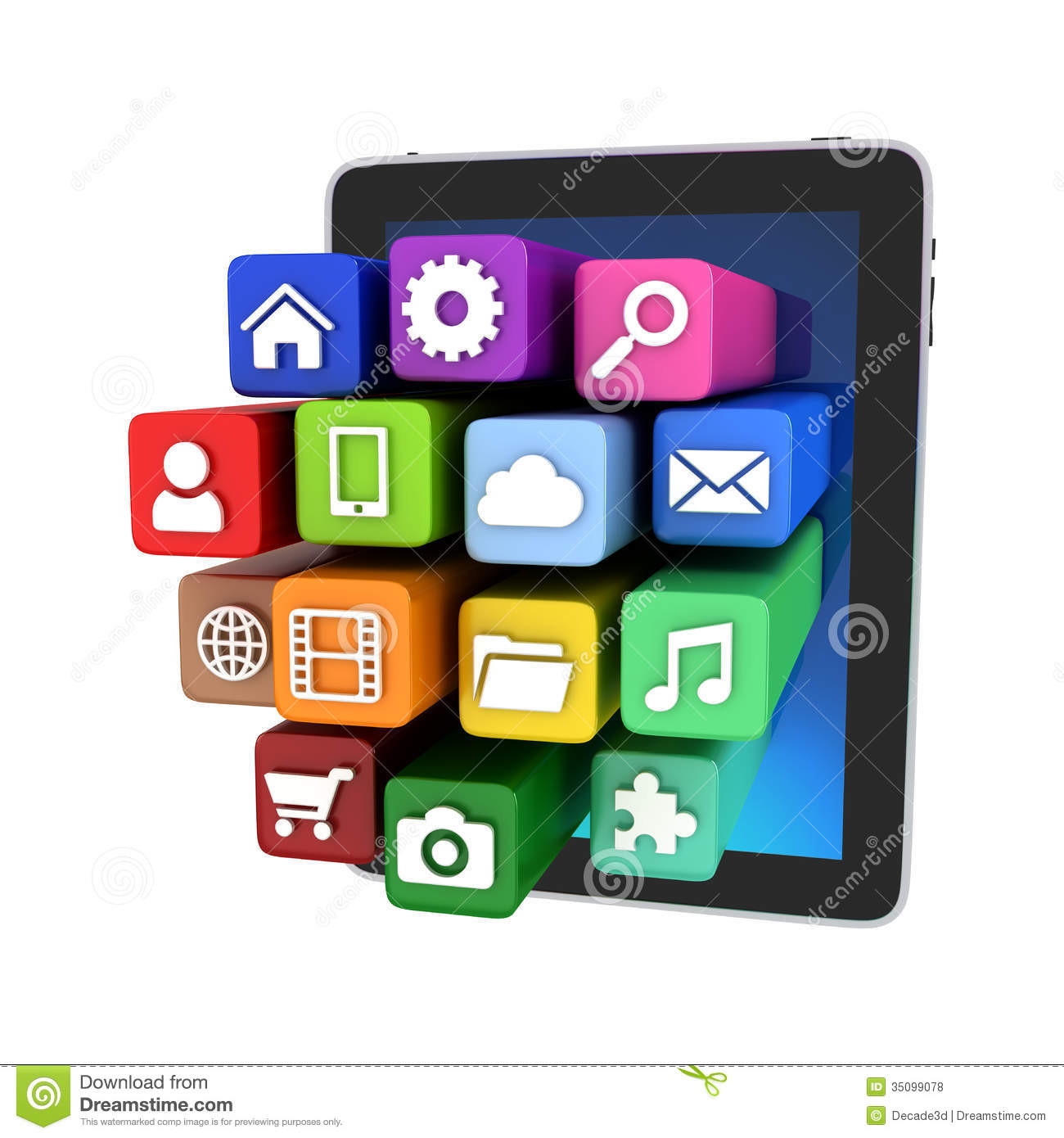 10 Tablet App Icon Images