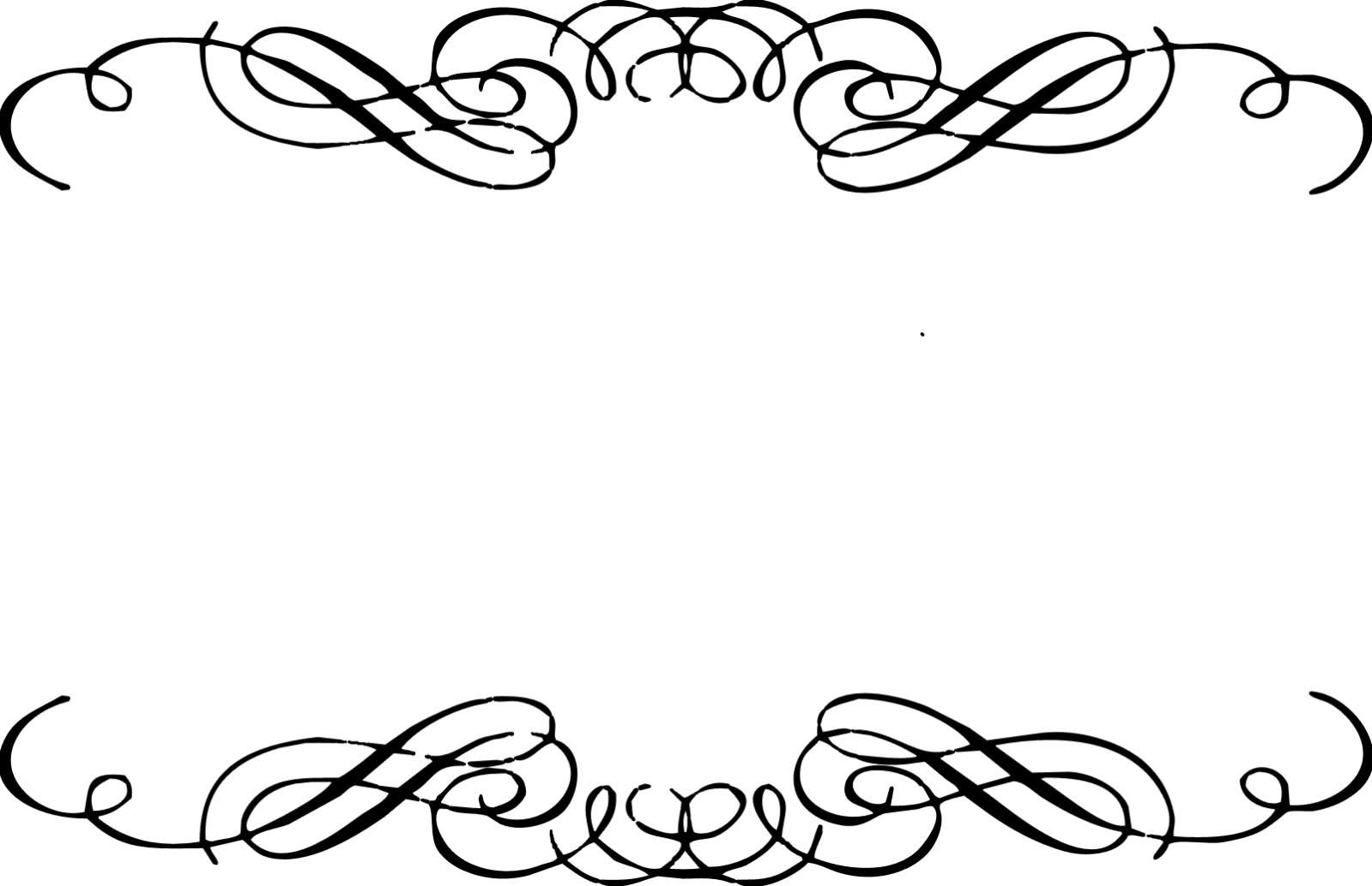 Free Wedding Scrolls Borders Clip Art