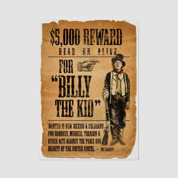 Free Western Wanted Poster Template