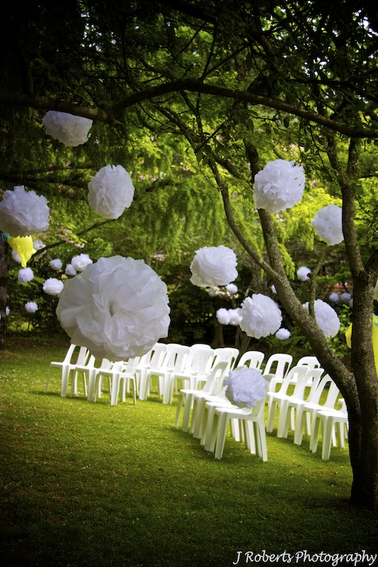 7 PSD Garden Wedding Images