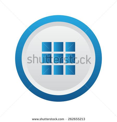 Grid List View Icon