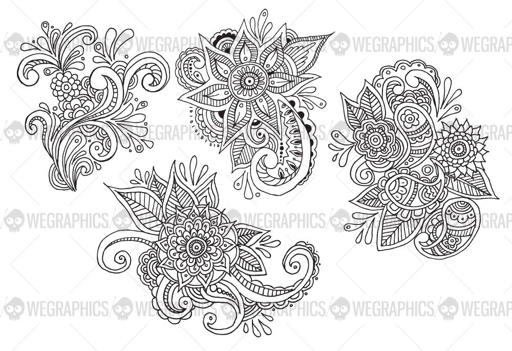 Easy Flower Patterns To Draw The Most Beautiful Flower 2017
