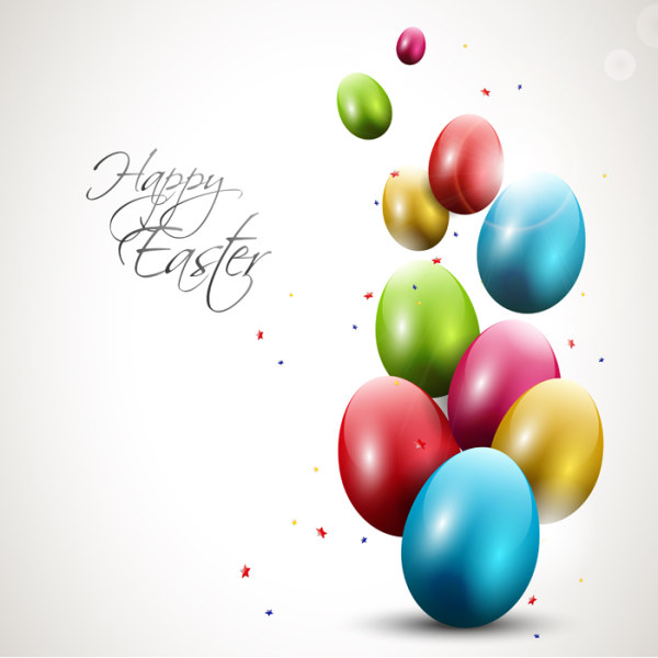 14 Funny Happy Easter Vector Images