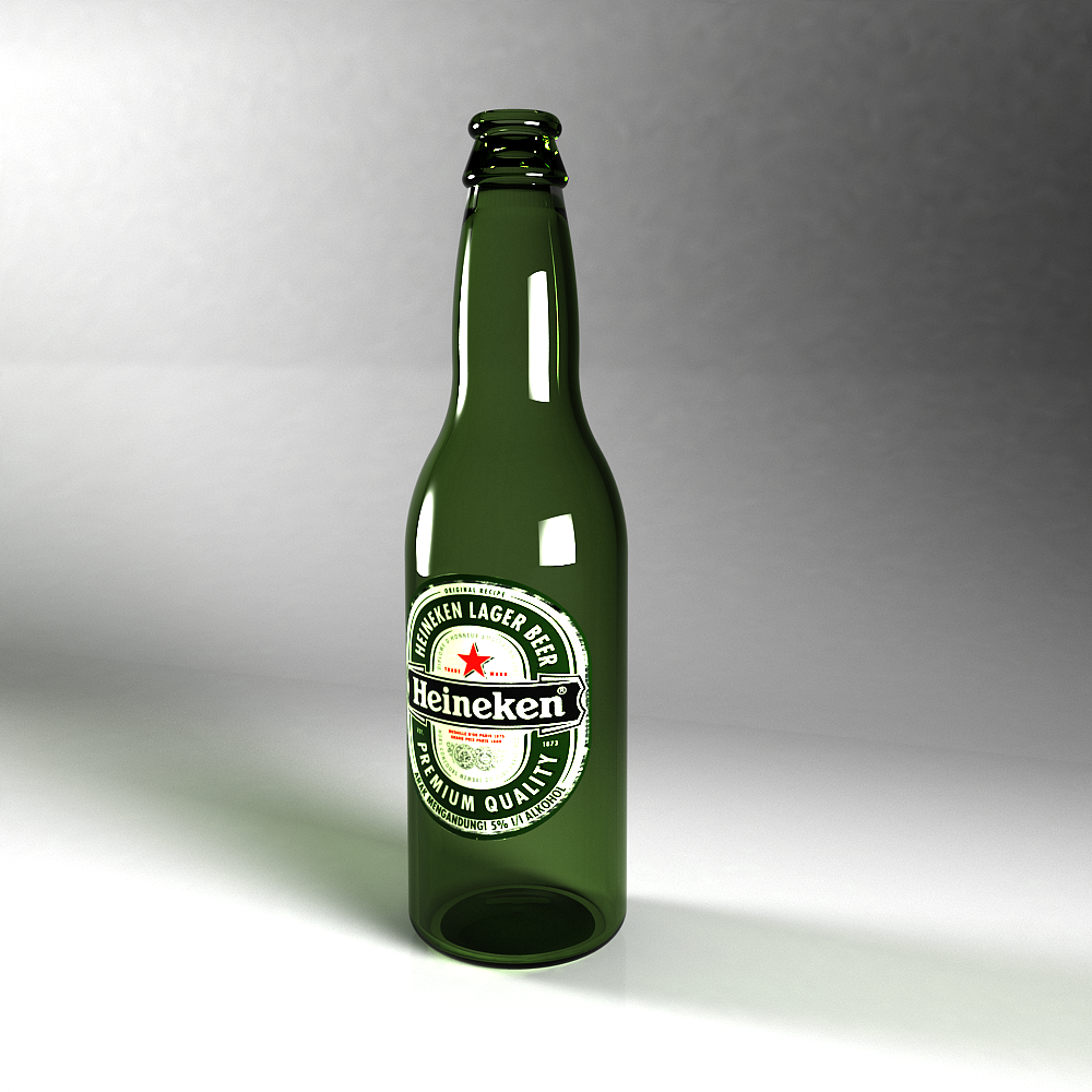 10 Heineken Beer Bottle PSD Images