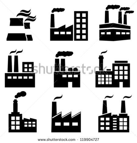 Industrial Building Clip Art