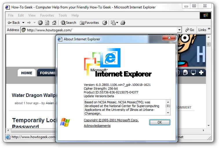 Microsoft internet explorer 10 download for windows 7.