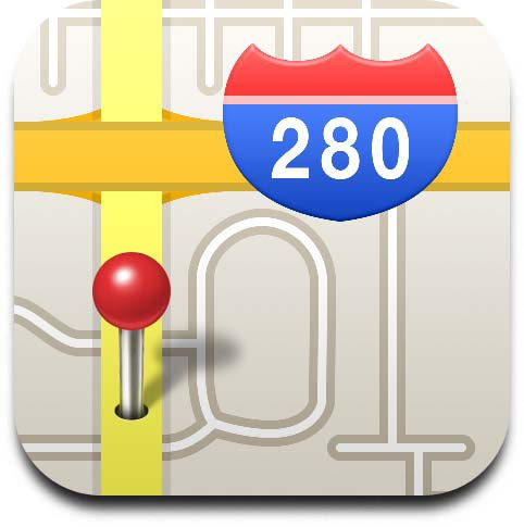12 IPad Maps App Icon Images