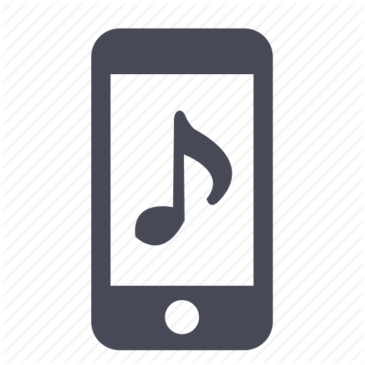 iPhone Music Icon Phone