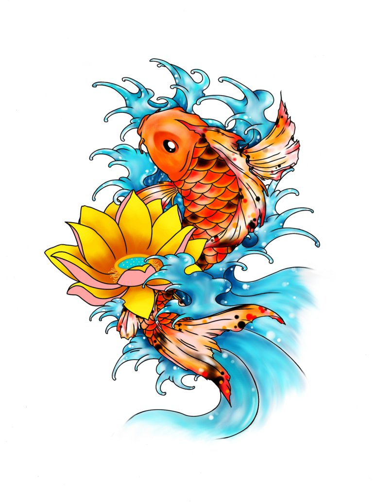 14 koi fish graphics images koi fish clip art free live for Japanese koi fish artwork