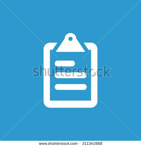List Icon Blue
