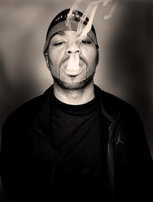 Method Man Smoking Weed