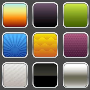 Mobile Icon Templates