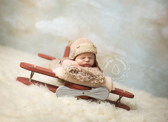 14 Newborn Photography Prop Wooden Images
