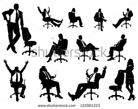 Person Sitting in Chair Silhouette