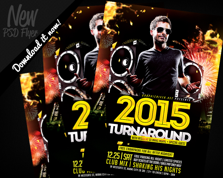 Photoshop DJ Flyer Template