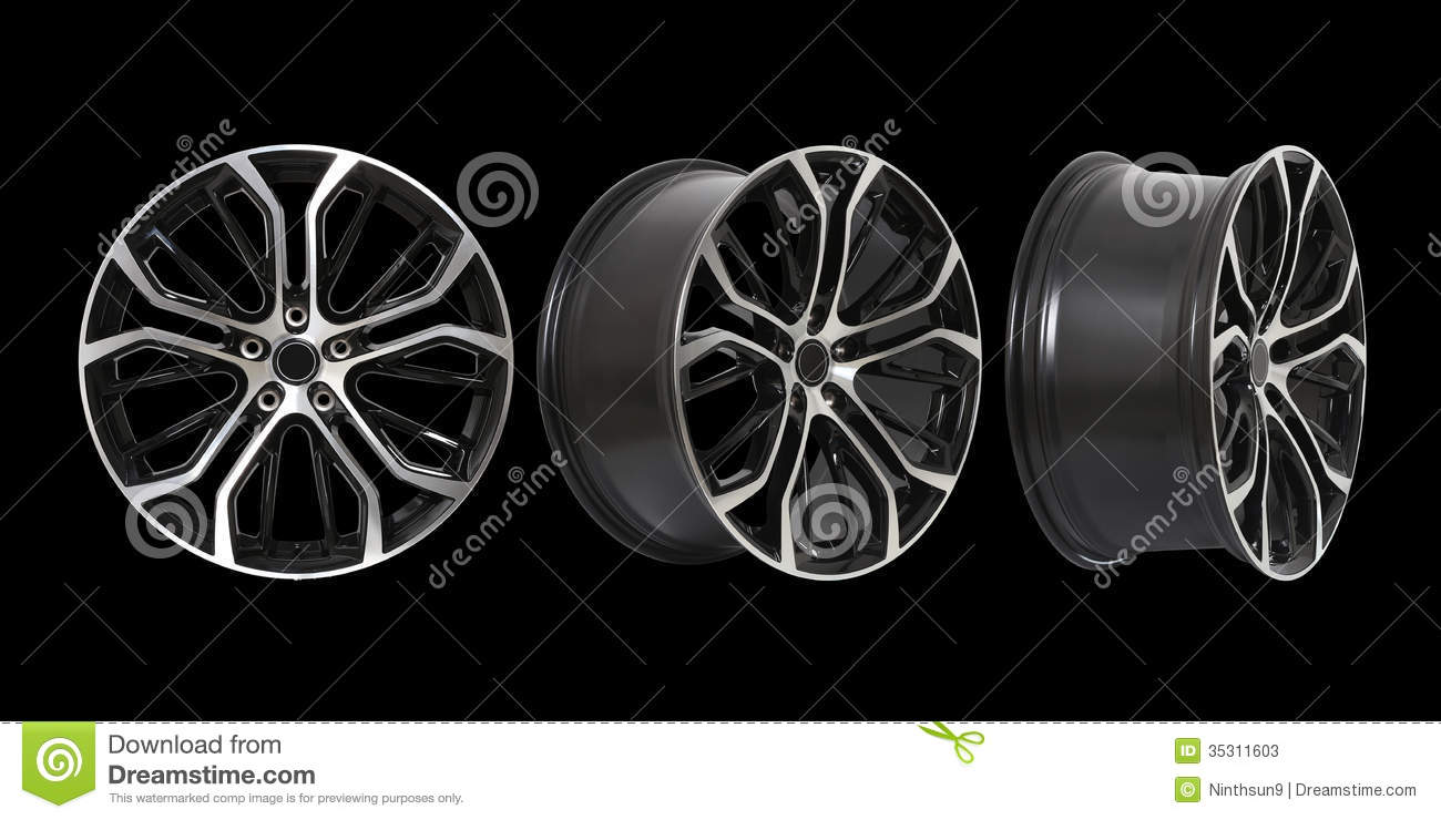 Rims at Different Angles