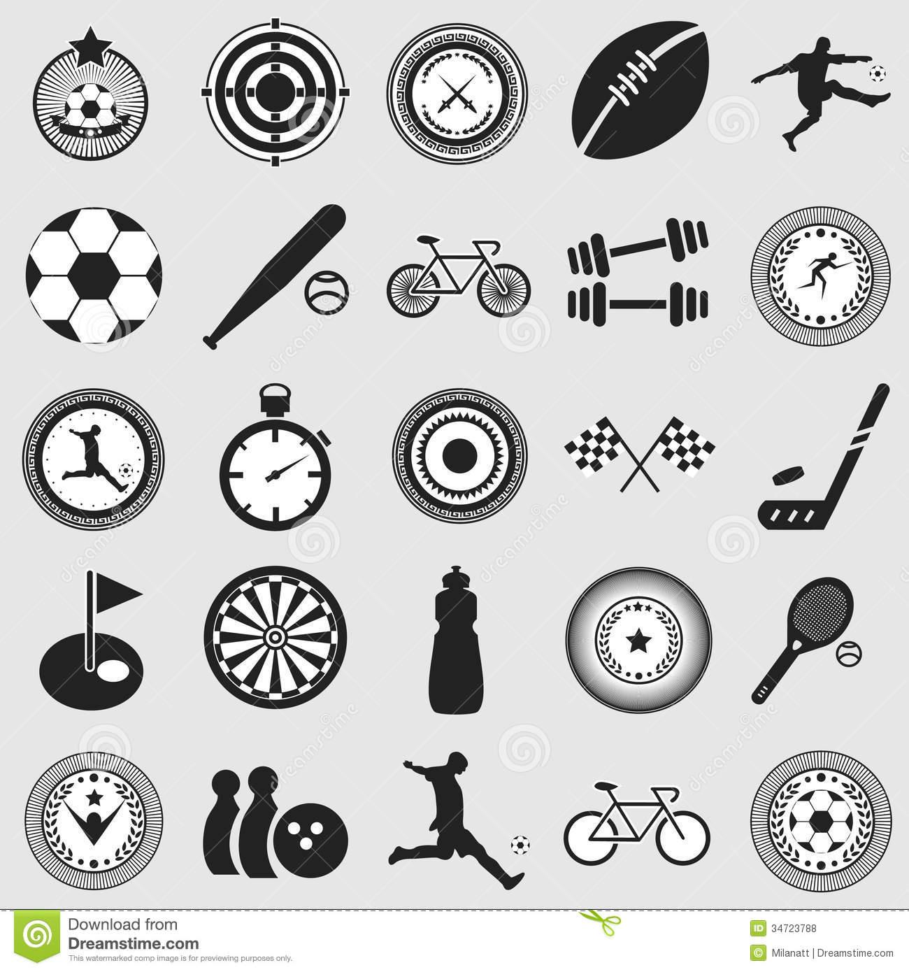 Royalty Free Sports Icon