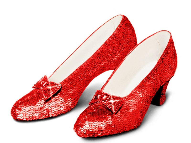 15 Ruby Slippers Vector Images