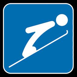 Ski Olympic Icon