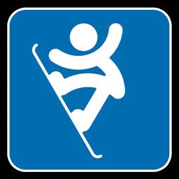 Snowboarding Olympics Icon