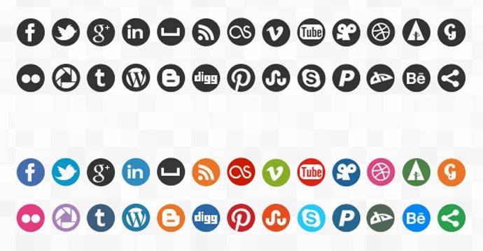 Social Media Icons Vector Free Download