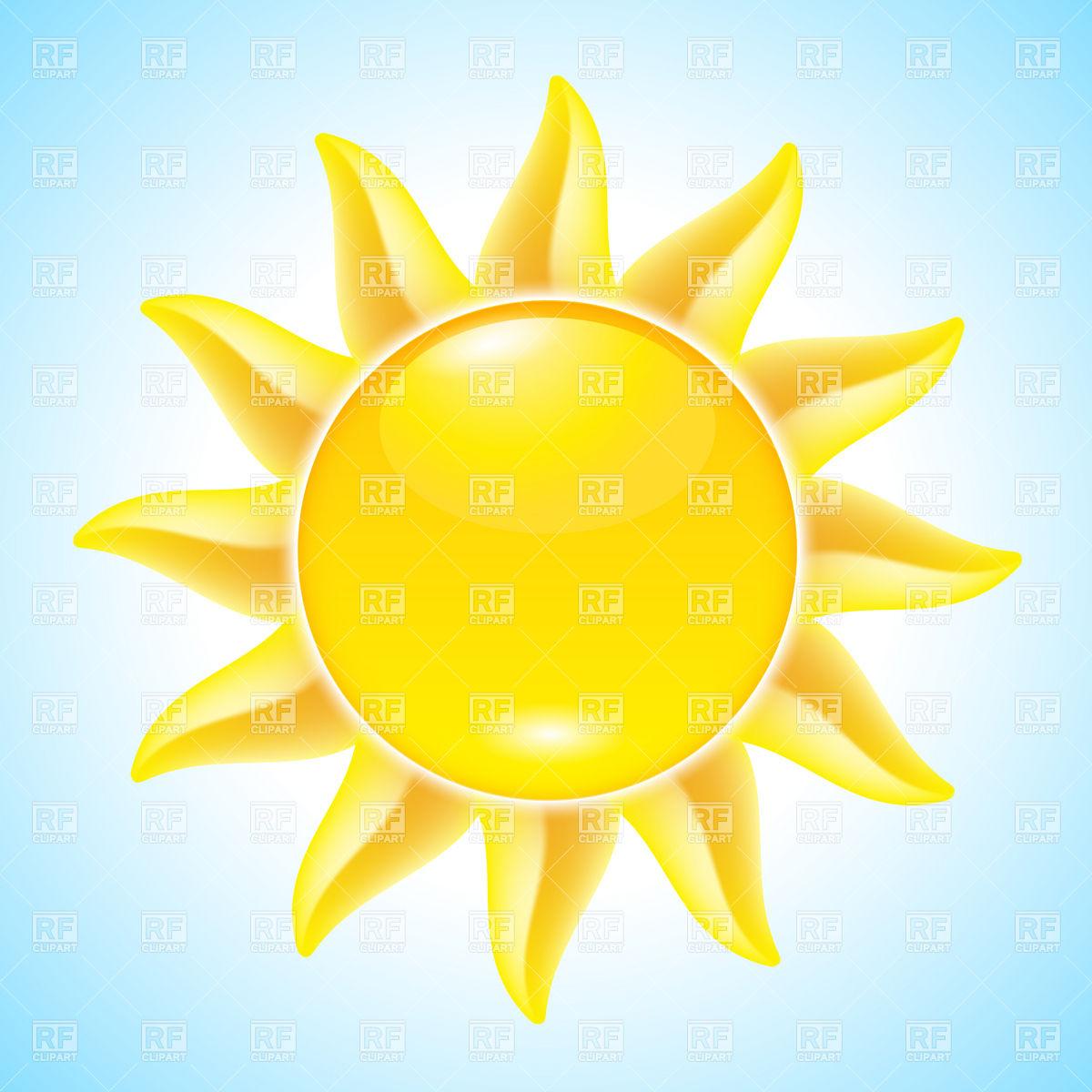 Summer Sun Clip Art