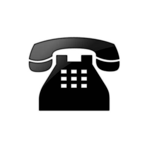 11 Black Telephone Icon Images