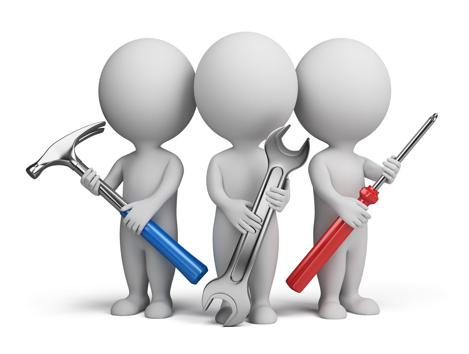 Tool Maintenance Repair Clip Art