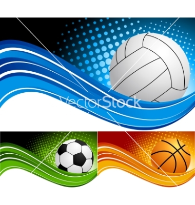 19 Sports Background Vector Images