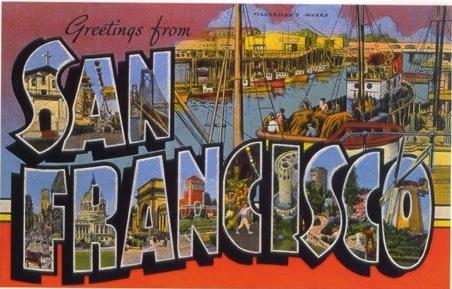 Vintage Postcard San Francisco