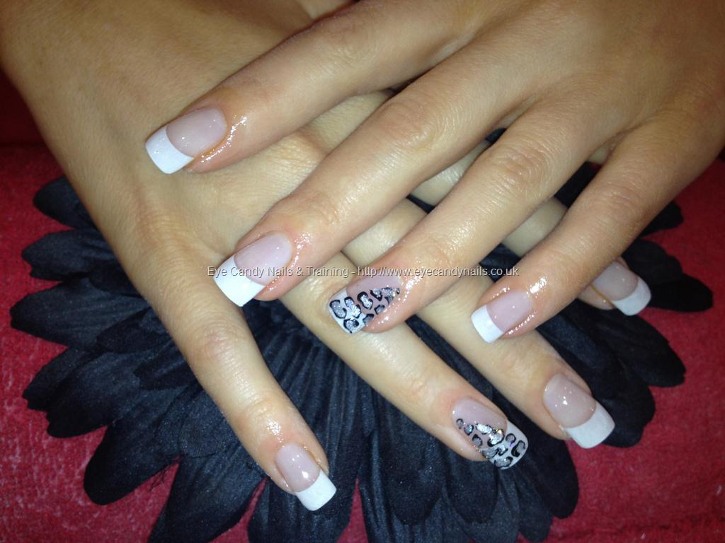 12 White Tip Acrylic Nail Designs Images