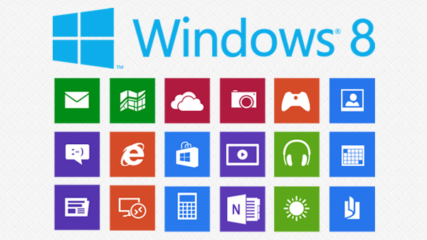 8 Flat Icons Windows 8 Images