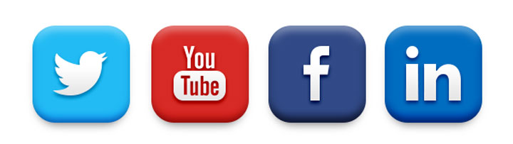 8 Facebook Twitter YouTube Icons Images