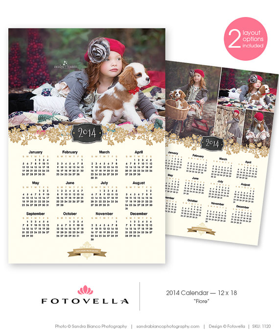 Photoshop Calendar Templates. 3 free calendar template designs for ...