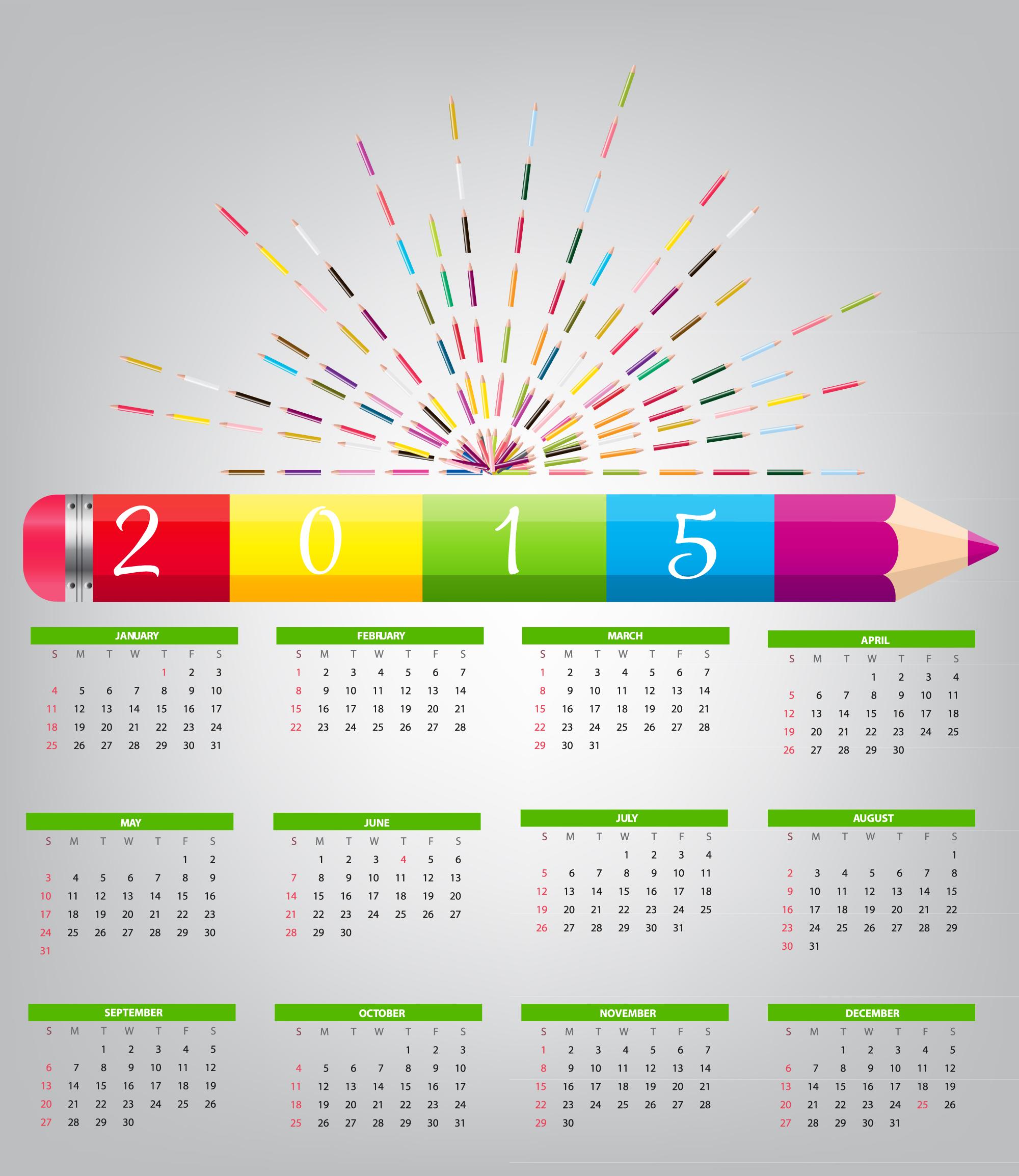2015 Wall Calendar