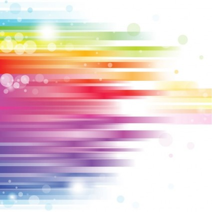 18 Rainbow Abstract Background Vector Images