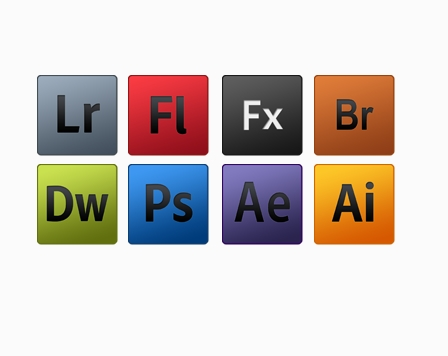 Adobe Icons PSD