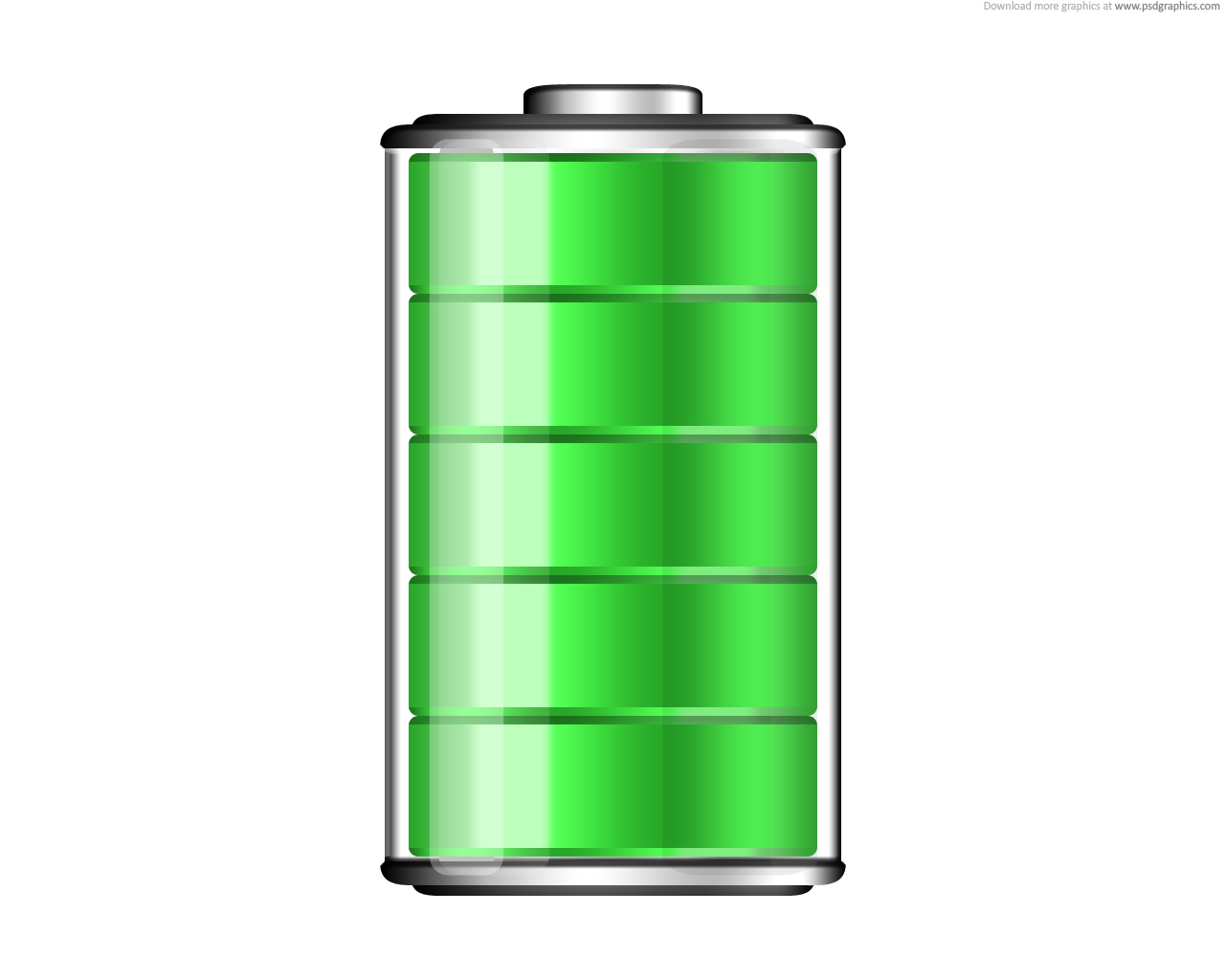 8 Cell Phone Battery Icon Images