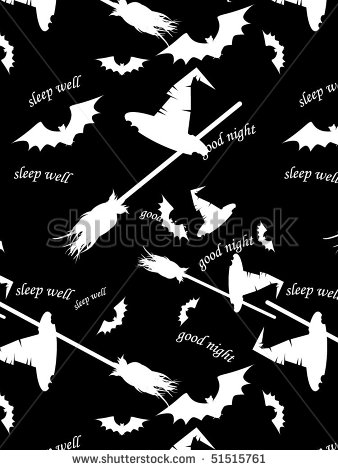 Black and White Halloween Vector