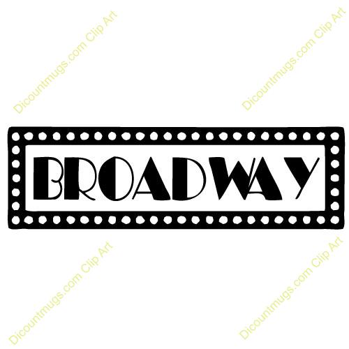 6 Broadway Sign Font Images