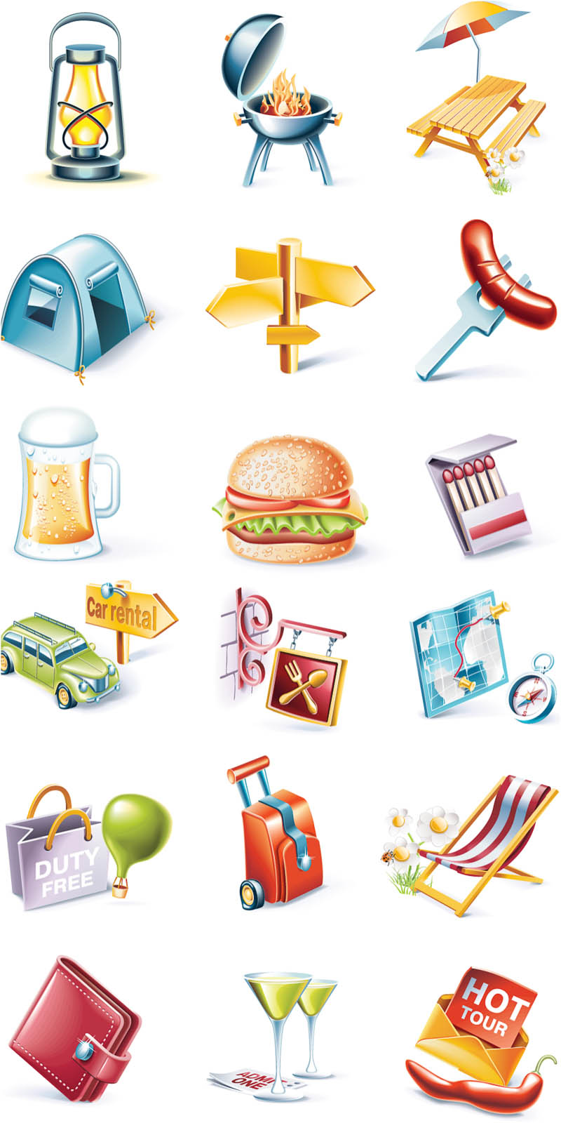 Camping Themed Clip Art Free