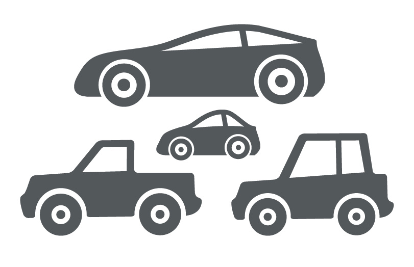 Car Vector Graphics Icons