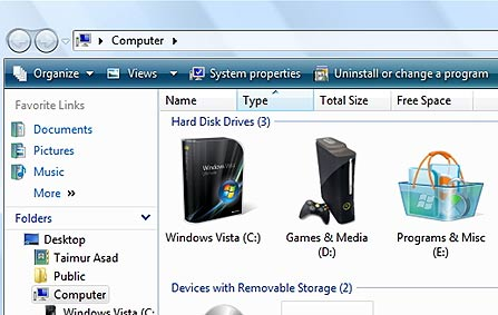 14 Drive In XP Change Icon Images